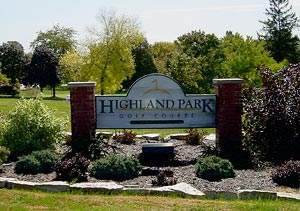 highland park sign