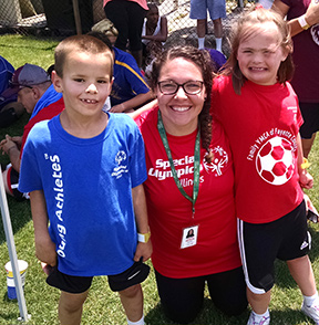 special olympics kids